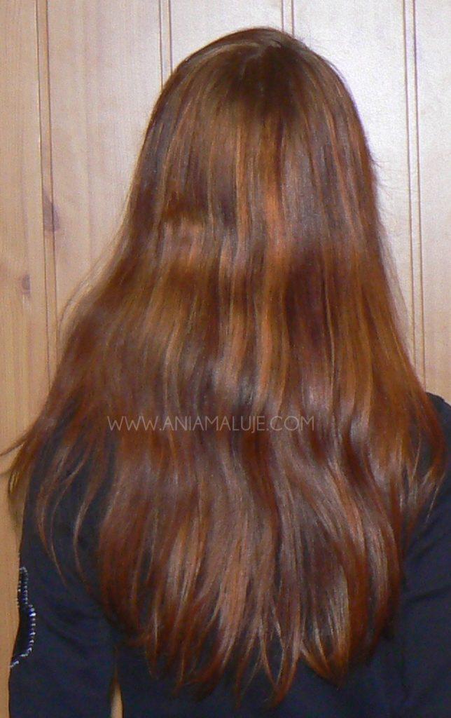 Włosy Z Czerni Na Blond Z Przystankiem W Rudościach