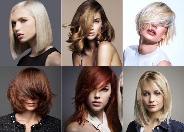 Trendy średnie Włosy 20172018 Medium Hairstyles
